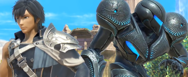 Chrom and Dark Samus Reveal