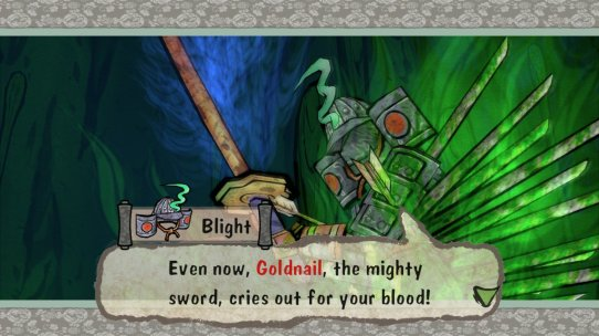 Okami Blight Goldnail Quote