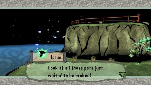 Okami Breaking Pots