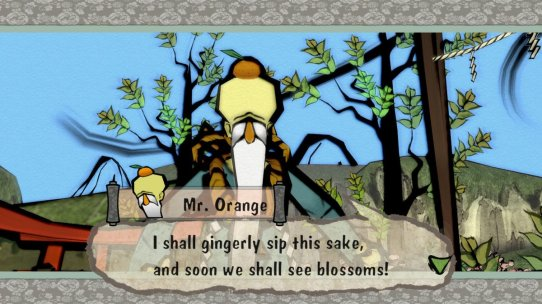 Okami Mr Orange Sake