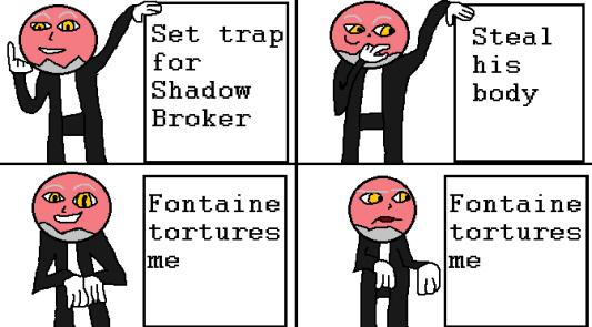 Breaking the Broker Xehanorts Plan