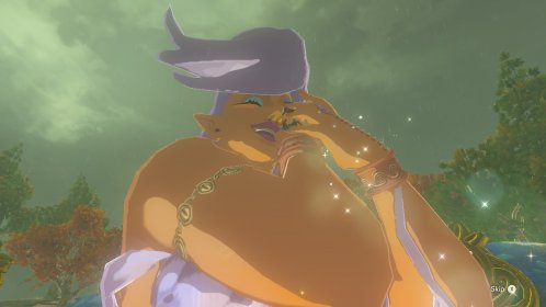 Breath of the Wild Cuddle