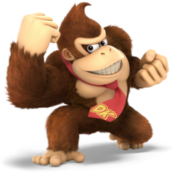 Donkey Kong Smash Bros Ultimate