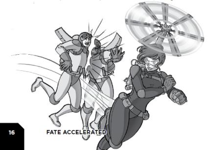 FATE Narrow Escape