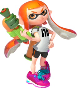 Inkling Smash Bros Ultimate