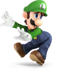 Luigi Smash Bros Ultimate