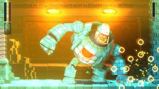 Mega Man 11 Block Man Death