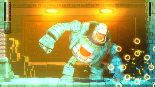 Mega Man 11 Block Man Death