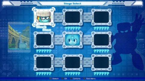 Mega Man 11 Level Select
