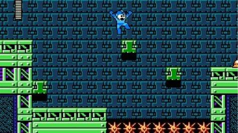 Mega Man Platforming