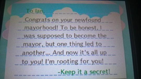 New Leaf Mayor Letter
