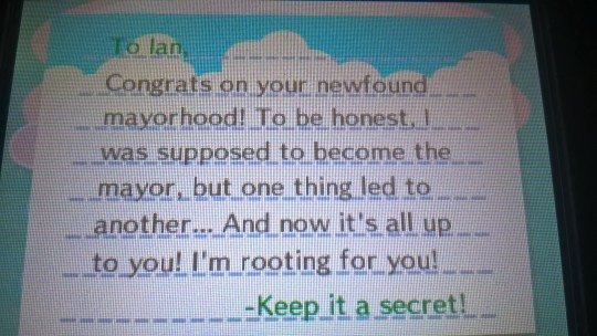 New Leaf Mayor Letter