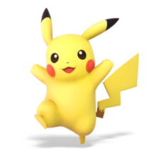 Pikachu Smash Bros Ultimate
