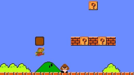 Super Mario Bros 1st Level
