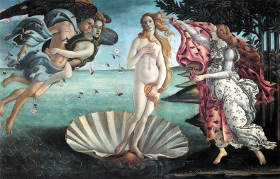 The Birth of Venus by Sandro Boticcelli