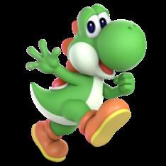 Yoshi Smash Bros Ultimate