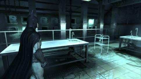 Arkham Asylum Morgue