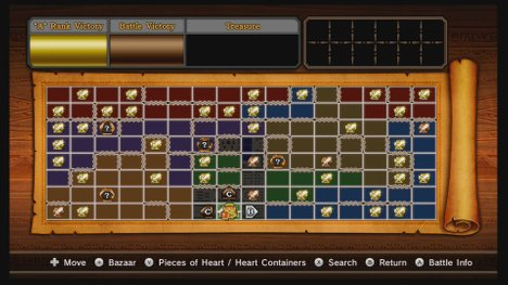 Hyrule Warriors Adventure Map