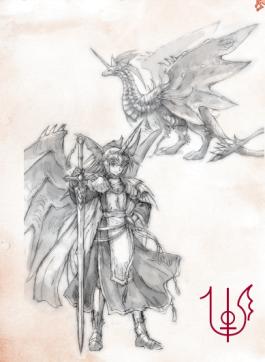 Ryuutama Crimson Dragon