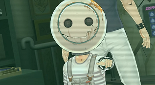 Zero Time Dilemma Boy in the Helmet