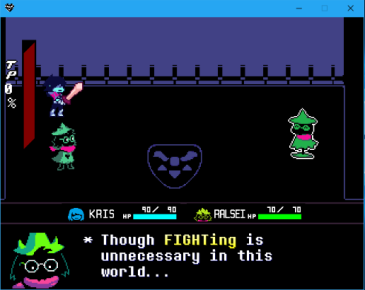 Deltarune Fighting is Unnecessary