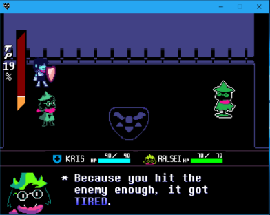 Deltarune Tired