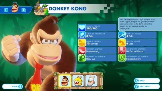 Mario + Rabbids DK Skills