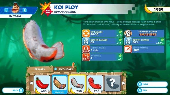 Mario + Rabbids Koi Ploy