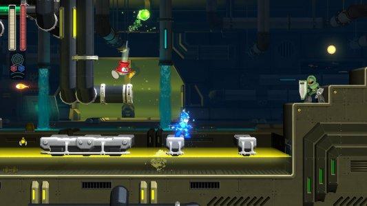 Mega Man 11 Acid Man Stage