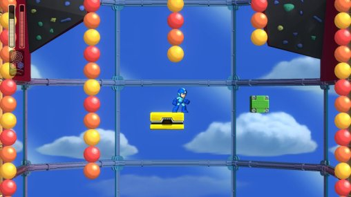 Mega Man 11 Bounce Man Stage