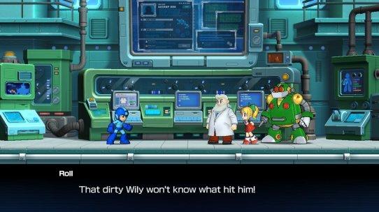 Mega Man 11 Dirty Wily