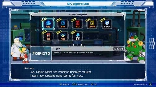 Mega Man 11 Store