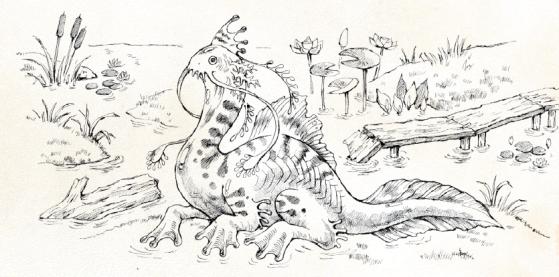 Ryuutama Muck Dragon