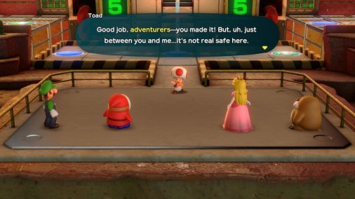 Super Mario Party Adventurers Unsafe