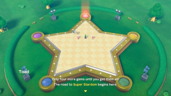 Super Mario Party Gems