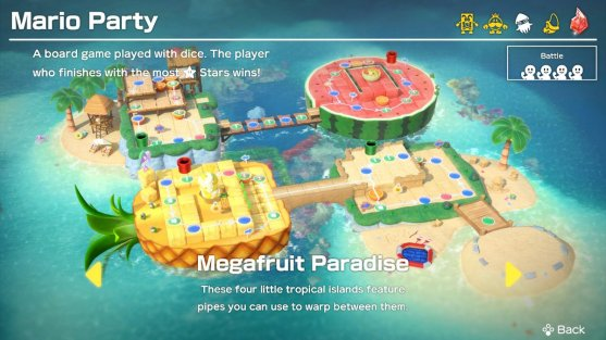 Super Mario Party Main Mode