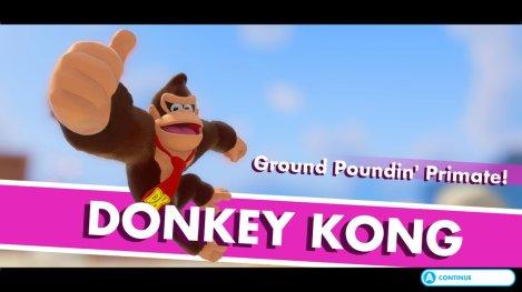 Mario + Rabbids DK Intro