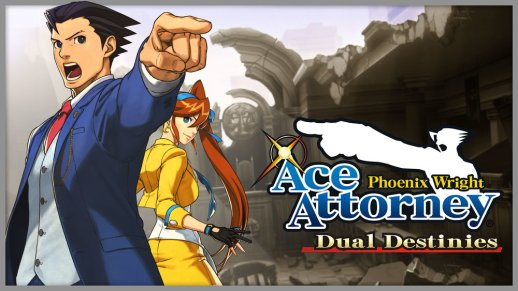 Phoenix Wright Dual Destinies Cover 2