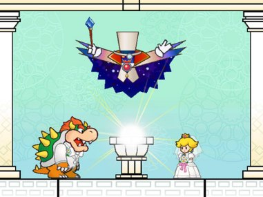 Super Paper Mario Wedding