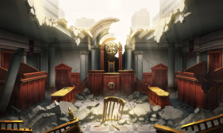 Ace Attorney Bombed Courtroom.png