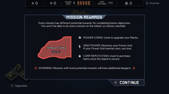 into the breach mission rewards