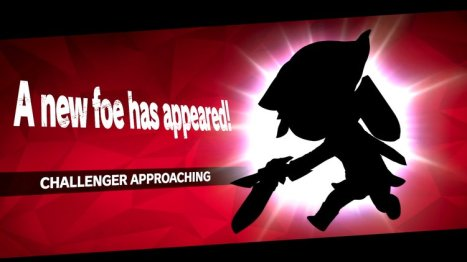 smash ultimate challenger approaching