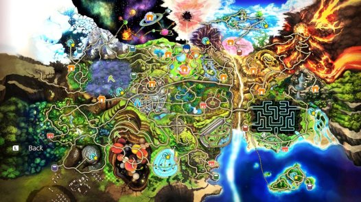 smash ultimate world of light map
