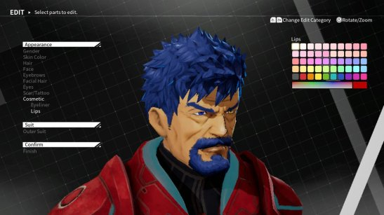 Daemon X Machina My Character