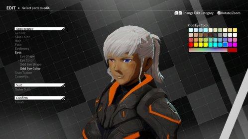 Daemon X Machina Woman Design
