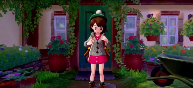 Pokemon Sword and Shield Female Trainer