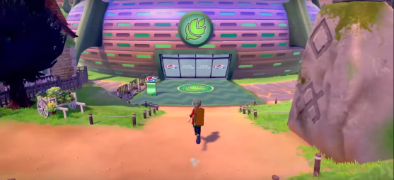Pokemon Sword and Shield Gym Exterior