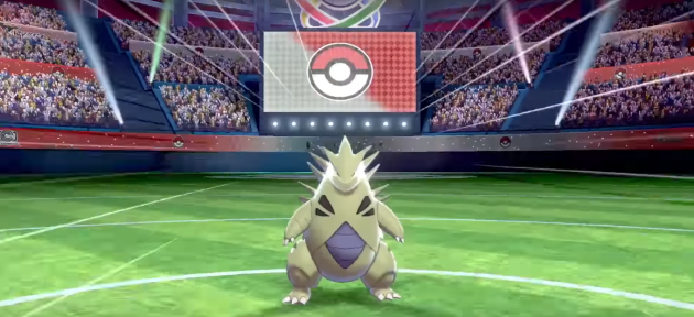 Pokemon Sword and Shield Gym Tyranitar