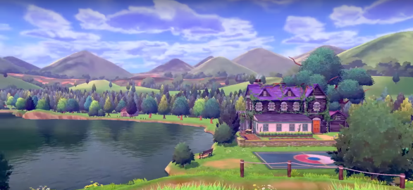 Pokemon Sword and Shield Overgrown House
