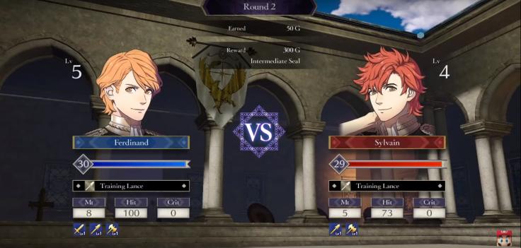 Three Houses Training Battle
